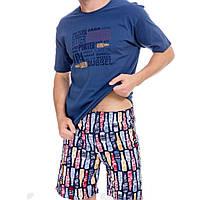 Піжама чоловіча футболка +шорти M, L TM Cornette, фото 1