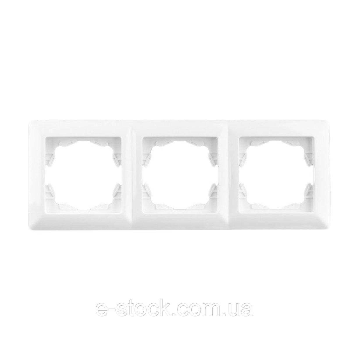 Lectris рамка 3-ая, белая