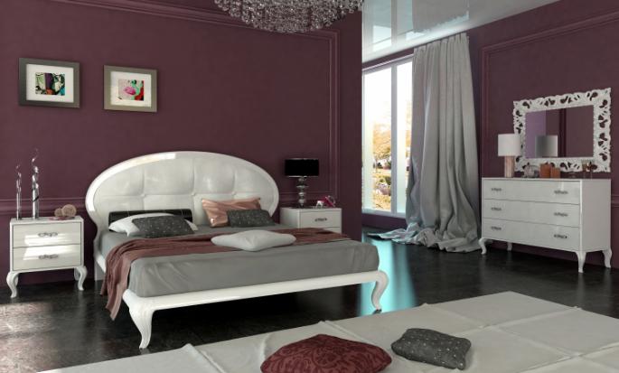 Спальня Империя 3Д Миромарк