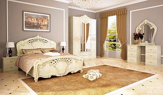 Спальня Олимпия4Д  (Радика Беж) Миромарк
