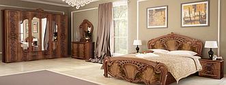 Спальня Олимпия (Перо Орех) Миромарк