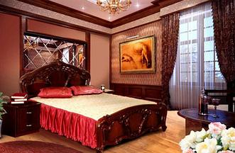Спальня Олимпия 4Д (Перо Рубино) Миромарк