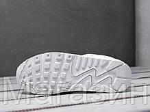 Мужские кроссовки Nike Air Max 90 Leather White Найк Аир Макс 90 белые, фото 2