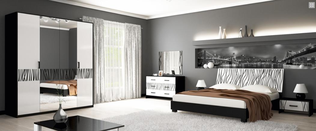 Спальня Терра 3Д Миромарк