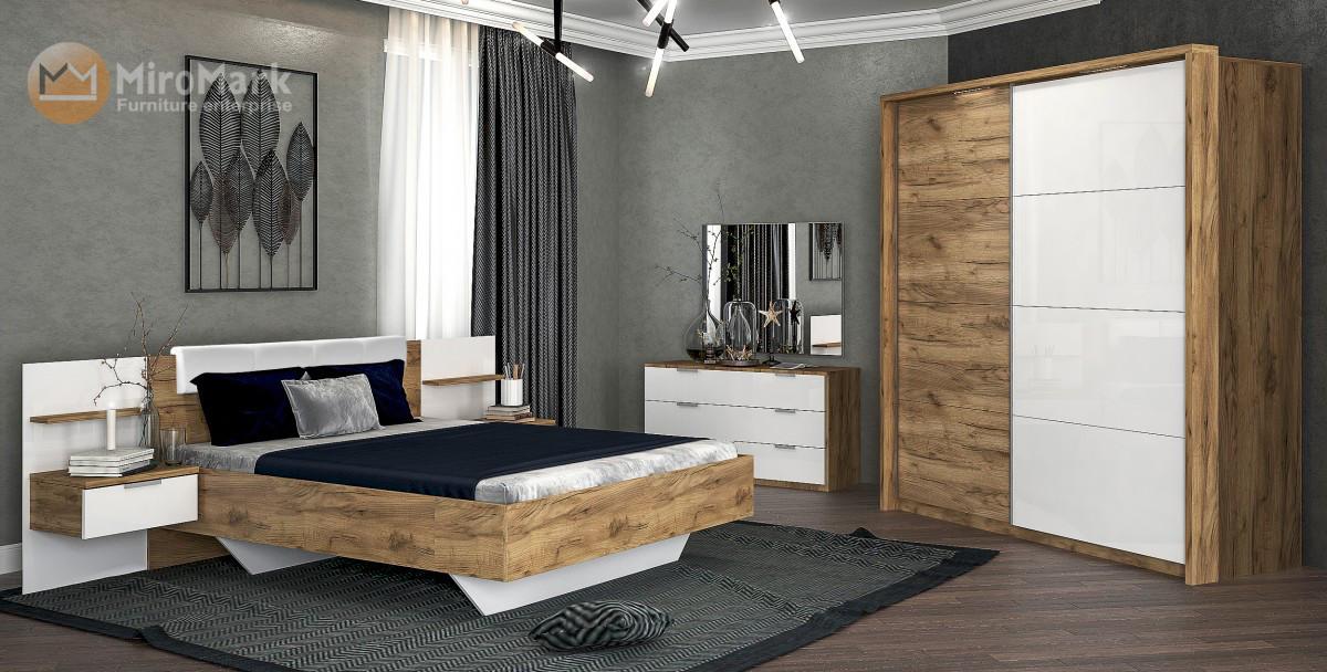 Спальня Асти 4Д  MiroMark