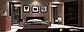 """Спальня """"Белла"""" 3Д (черная - вишня бюзум)  Миромарк, фото 2"""
