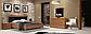 """Спальня """"Белла"""" 3Д (черная - вишня бюзум)  Миромарк, фото 5"""