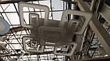 Светодиодная люстра акриловая потолочная лед 3438/5, фото 2