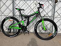 Взрослый горный велосипед 26 дюйма Azimut Power спортивный Азимут Shimano