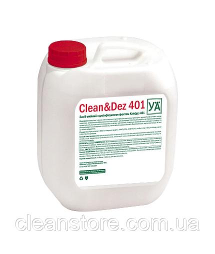 КлинДез 401, средство моющее с дезинфицирующим эффектом, 5л