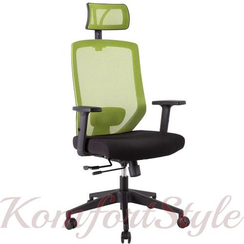 Кресло офисное JOY black-green 14502
