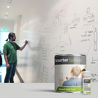 Краска маркерная Smarter Surfaces 6 м² белая