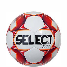 Дитячий футзальний м'яч Select Futsal Talento11 біло-червоно-помаранчевий