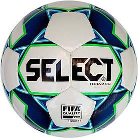 Футзальний м'яч Select Futsal Tornado FIFA NEW розмір 4 біло-синій