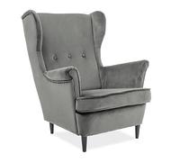 Кресло Lord VELVET( Лорд Вельвет серый)