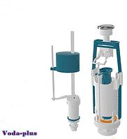Арматура для сливного бачка универсальная с функцией СТАРТ-СТОП с клапаном боковой подачи воды