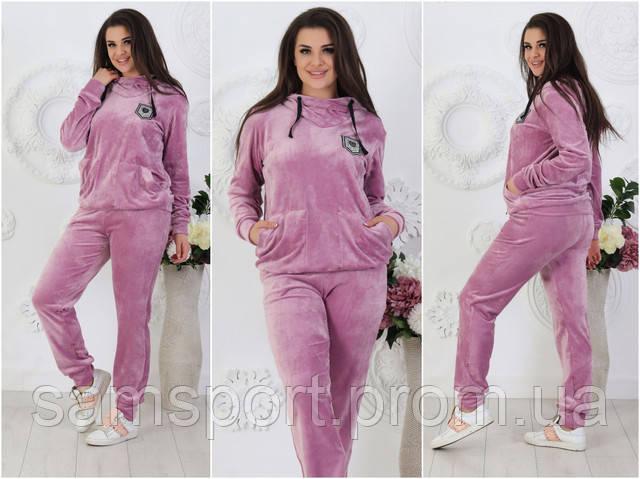 Большие размеры оптом. Фото велюровых женских костюмов. Одежда Plus Size оптом от производителя, фото, цена, купить, оптом.