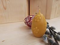 Пасхальная восковая свеча из пчелиного воска