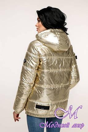 Женская весенняя куртка (р. 44-54) арт. 12-37/3-11, фото 2
