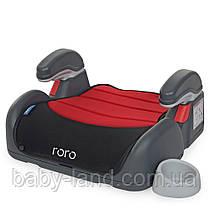 Детское автокресло бустер EL CAMINO RORO ME 1044 Рубиново-черный