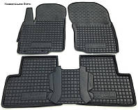 Коврики в салон для Volkswagen Caddy (4 двери) (2013-) полиуретан (AVTO-Gumm)