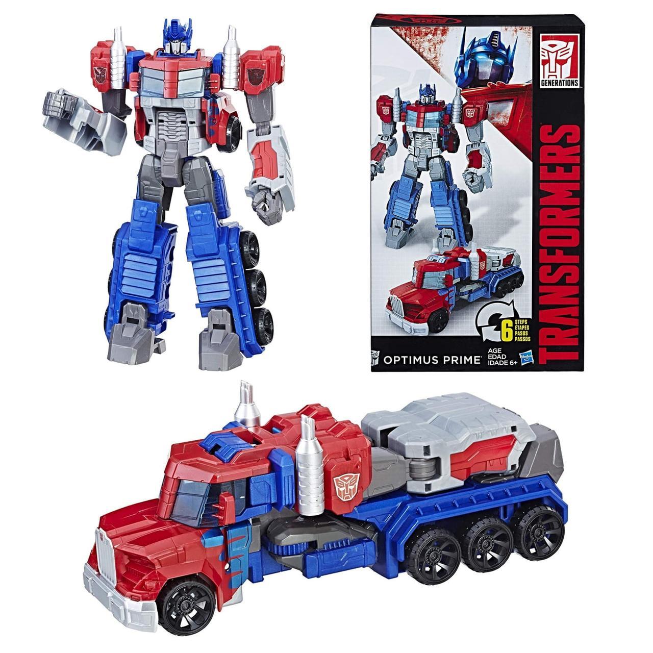 Робот-трансформер Оптимус Прайм Transformers Toys Heroic ...