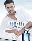 Оригинал Calvin Klein Eternity Aqua for Men 100ml edt Кельвин Кляйн Этернити Аква Мен, фото 3