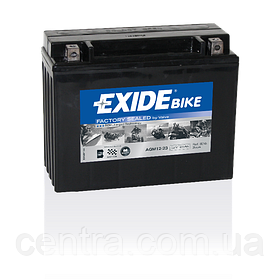 Мото аккумулятор EXIDE AGM12-23