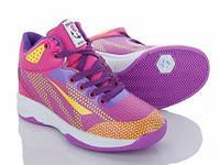Детские кроссовки Xifa kids для девочки фиолетового цвета. Размер 31-36.