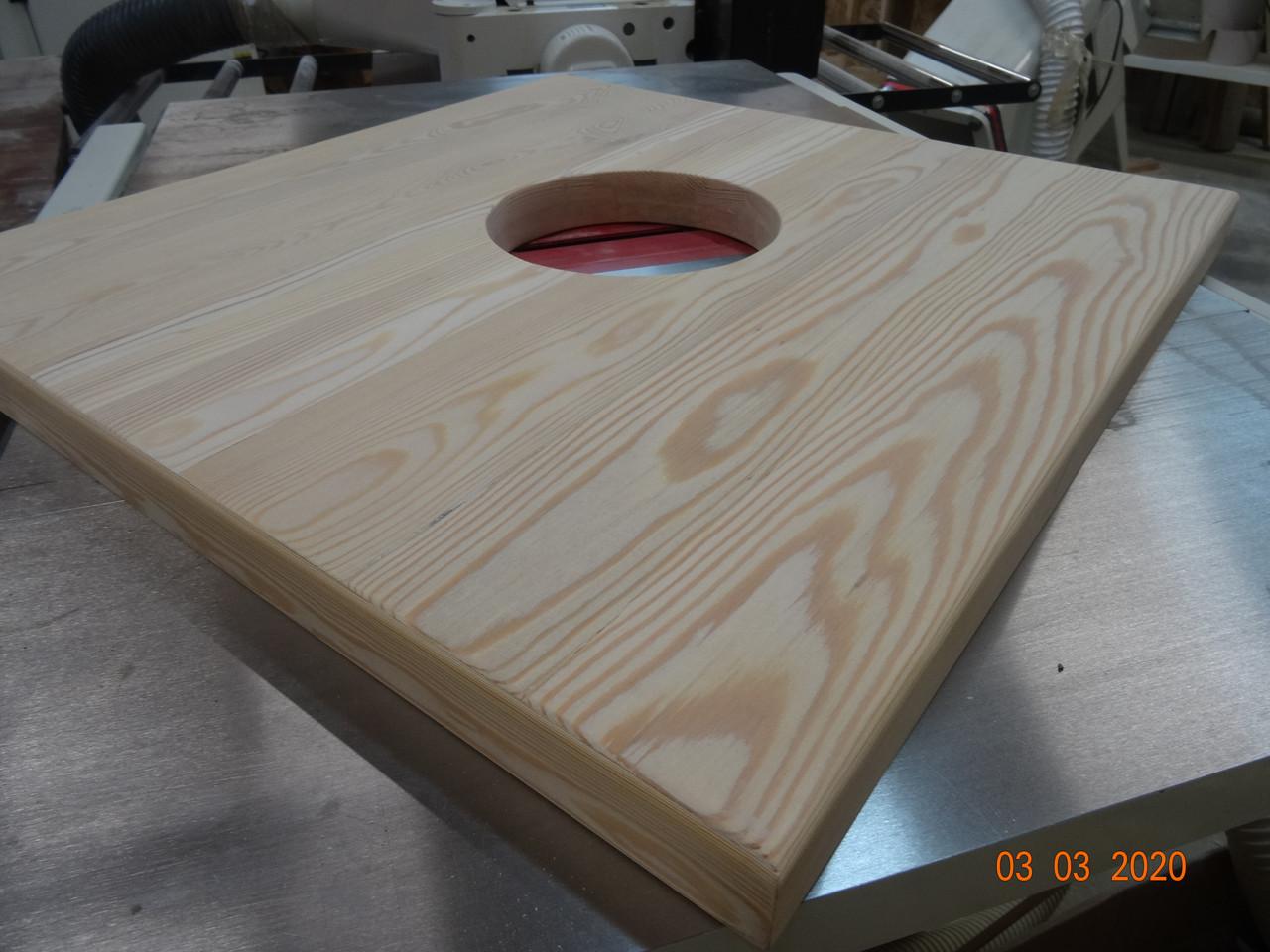 Мебельный щит  Лиственница 20мм столярная плита, столешница из массива дерева