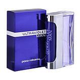 Paco Rabanne Ultraviolet Men edt 100ml (Комплементарний аромат привертає увагу і закохує в себе назавжди), фото 4
