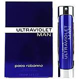 Paco Rabanne Ultraviolet Men edt 100ml (Комплементарний аромат привертає увагу і закохує в себе назавжди), фото 5