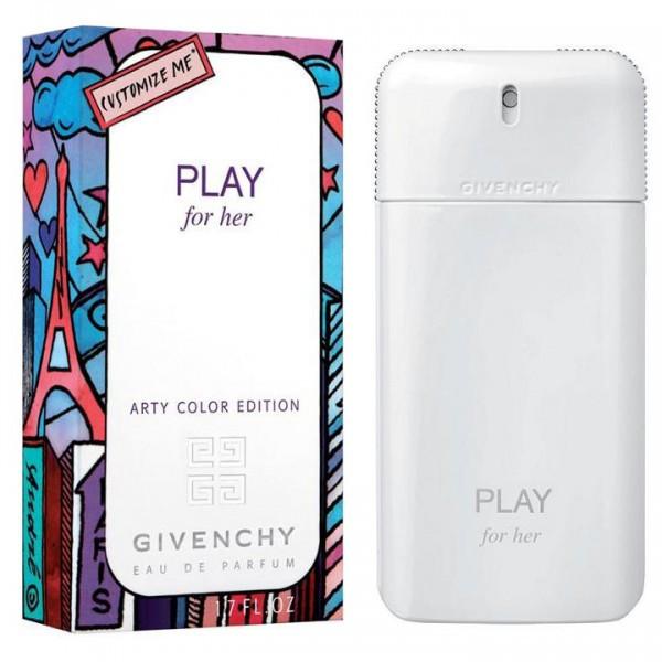 Givenchy Play Arty Color Edition 75ml edp (Композиции придаст образу изящности, чувственности,яркой игривости)