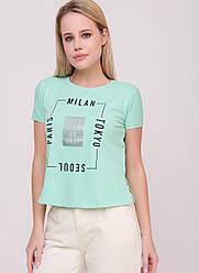 Женская футболка, в расцветках, р.S/М,М/L