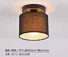 Люстра потолочная на одну лампу 29-XL011/1 BK(10шт) TK E27, фото 2