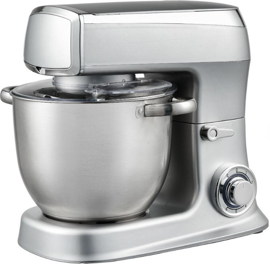 Кухонный комбайн тестомес Royalty Line RL-PKM- 2100.7 Silver 2100 ВТ