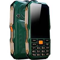 Защищенный противоударный и водонепроницаемый телефон Land Rover Dbeif D2017 18800mAh TV Power Bank Фонарик