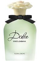 Оригинал Dolce Floral Drops Dolce Gabbana 75ml edt Тестер (женственный, нежный, жизнерадостный аромат), фото 1