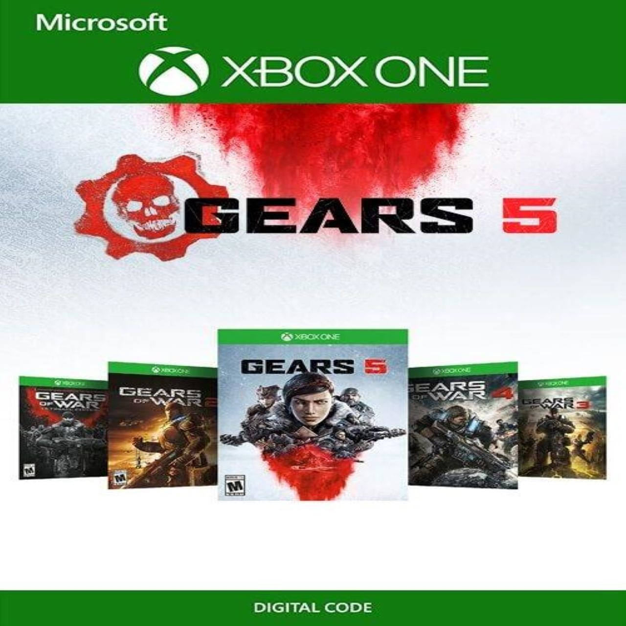 Gears 5 + Gears Of War Collection Xbox One (Код)