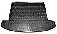 Коврик в багажник для Kia Carens (2013-) (7мест) полиуретан ( Avto-Gumm )