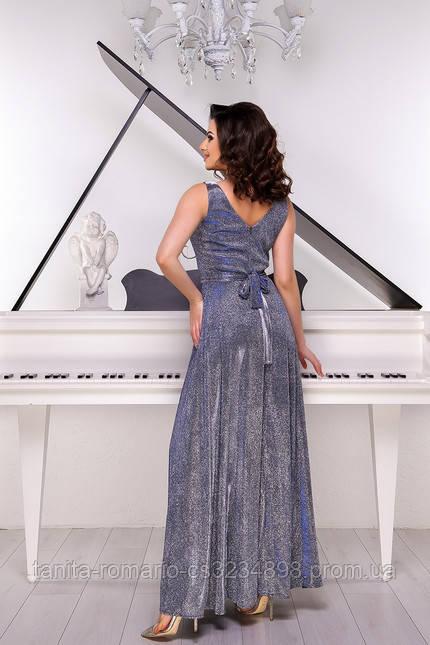 Вечернее платье 8135e Фиолетовый M