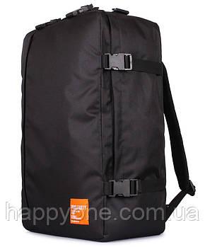 Рюкзак-сумка для ручної поклажі PoolParty Cabin (чорний) - МАУ