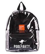 Прозрачный рюкзак Plastic (черный), фото 2