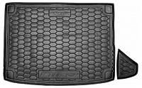 Коврик в багажник для авто KIA Niro (2018>) (с органайзер.) полиуретан ( AVTO-Gumm )