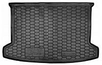 Коврик в багажник для авто KIA Rio (2018>) (хетчбэк)(росс. сборка) полиуретан ( AVTO-Gumm )