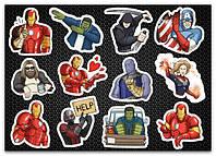 Стикерпак Мстители, Marvel Avengers #284