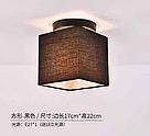 Подвесная люстра, ткань 29-XL014/1 BK TK E27 (1 лампа), фото 3
