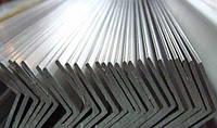 Уголок алюминевый разносторонний 20х10х2 мм 6м АД31Т5 с покрытием и без покрытия