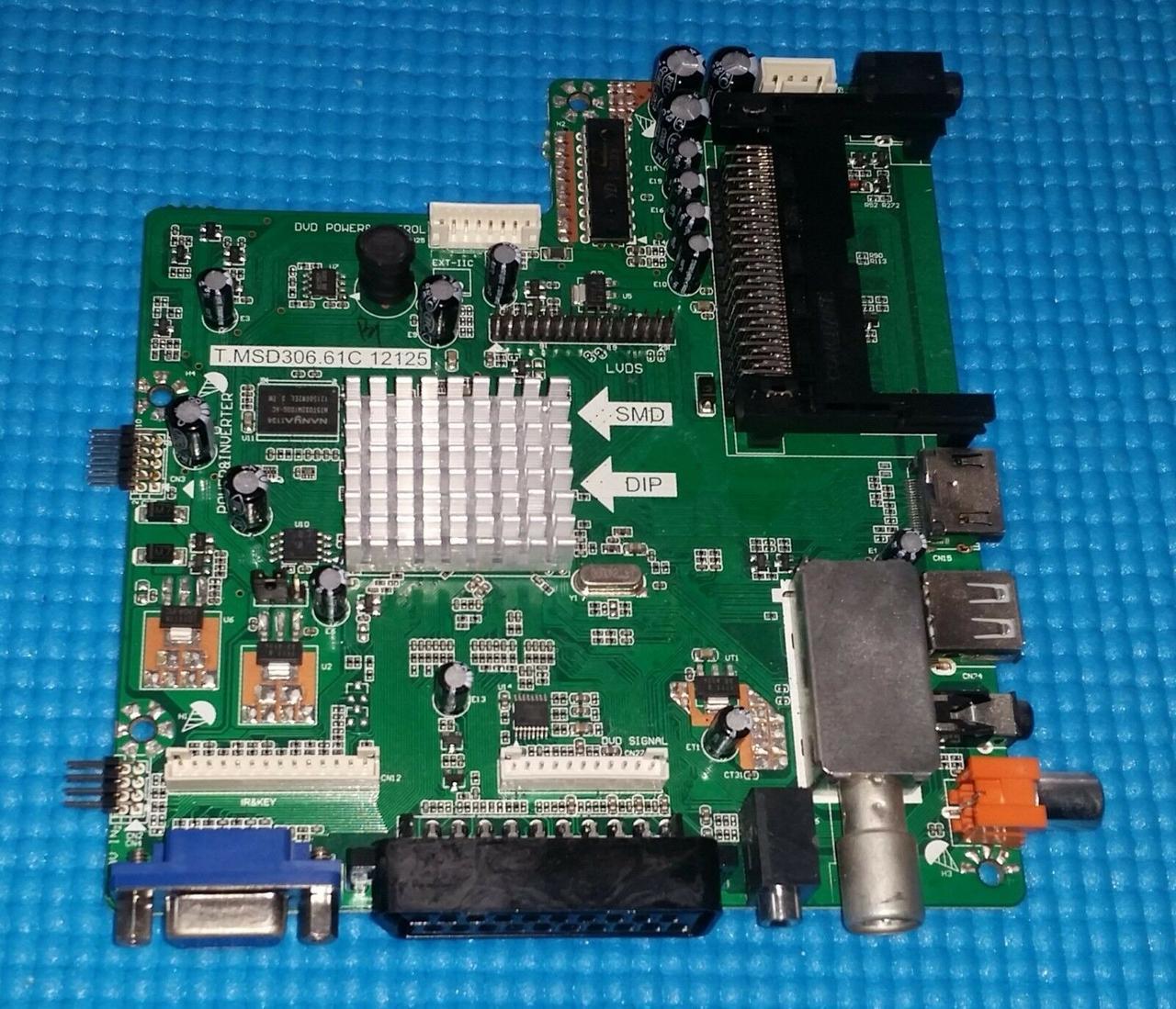 Материнская плата Main Board T.MSD306.61C 12125 для телевизора EVERLINE EVE2N56FC