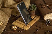 Деревянная Подставка Органайзер Держатель Для iPhone Телефона Смартфона Планшета iPad